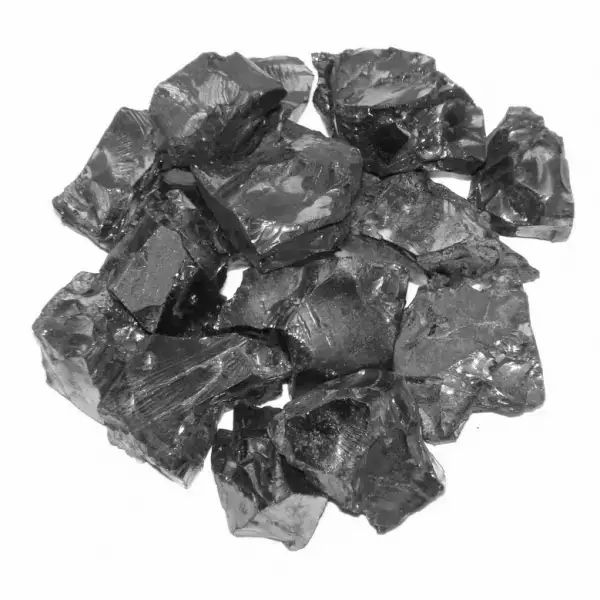 Package Of Elite Shungite 100 Grams With A 98 Carbon