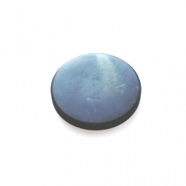 Shungite Round Plate 45 Mm With A Magnet