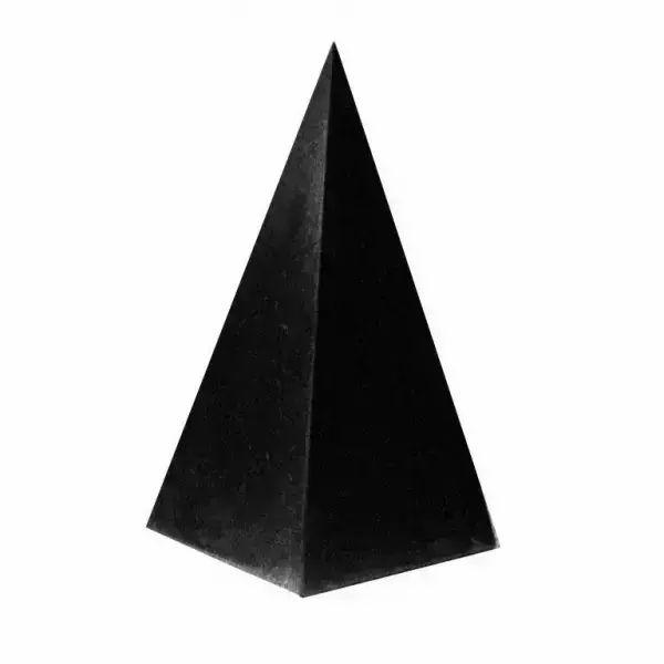 Polished High Shungite Pyramid