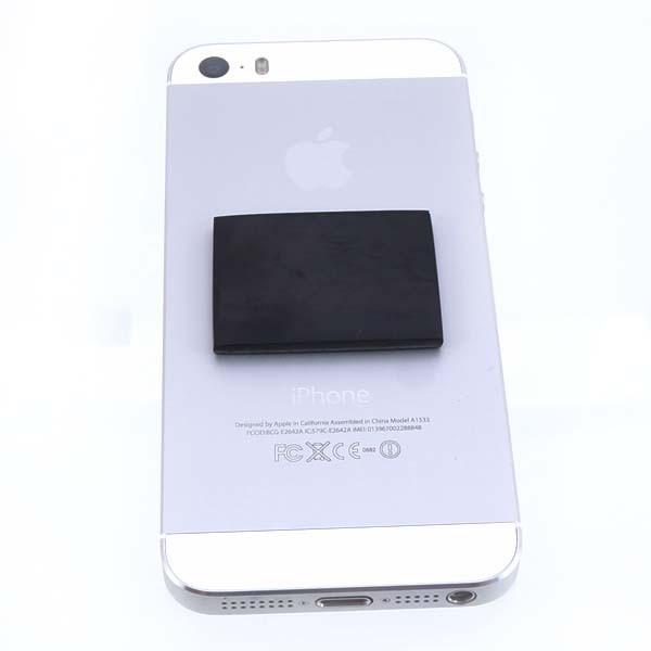 Shungite rectangular plate for cell phone